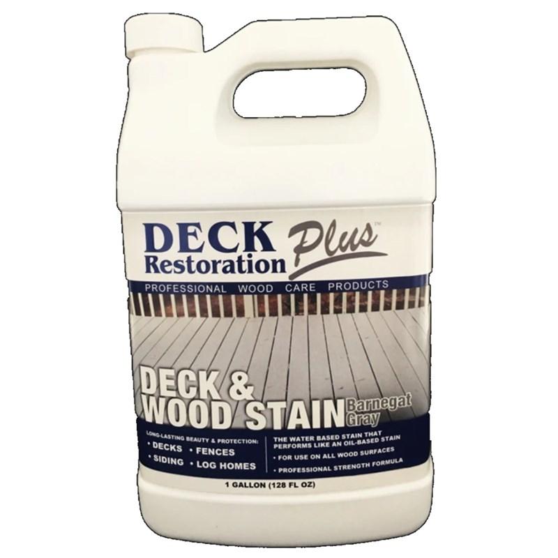 Deck & Wood Stain Barnegat Gray Gallon DRP