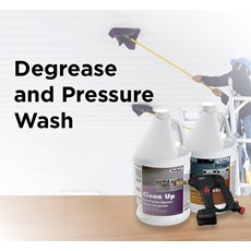 Degrease and Pressure Wash