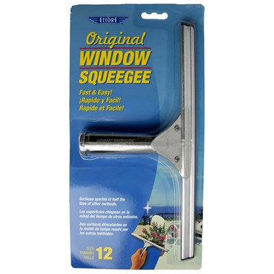 Ettore Classic Squeegees Stainless 12 in