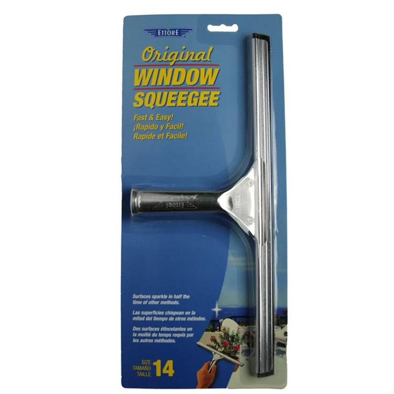 Ettore Classic Squeegees Stainless 14 in