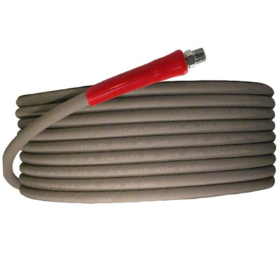 Hose Flextral Gray 50ft 6000psi 2 Wire Pressure Washing