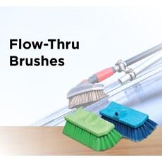 Flow-Thru Brushes