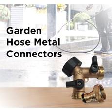 Garden Hose Metal Connectors