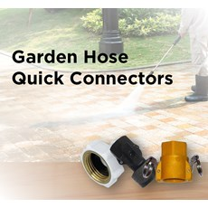 Garden Hose Quick Connectors