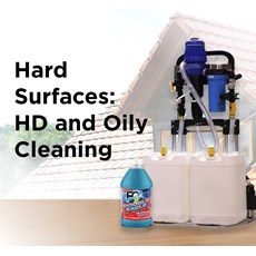 Hard Surfaces: HD and Oily Cleaning