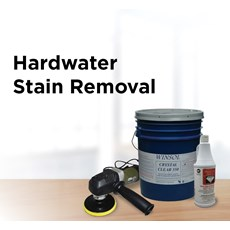 Hardwater Stain Removal