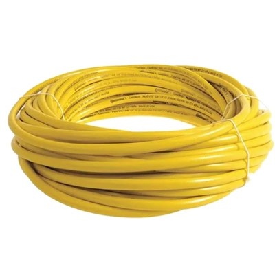 Hose 3/8in 200ft Yellow w/GH fittings