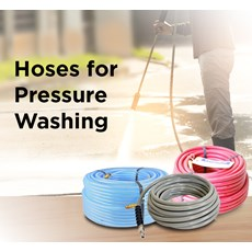 Hoses for Pressure Washing
