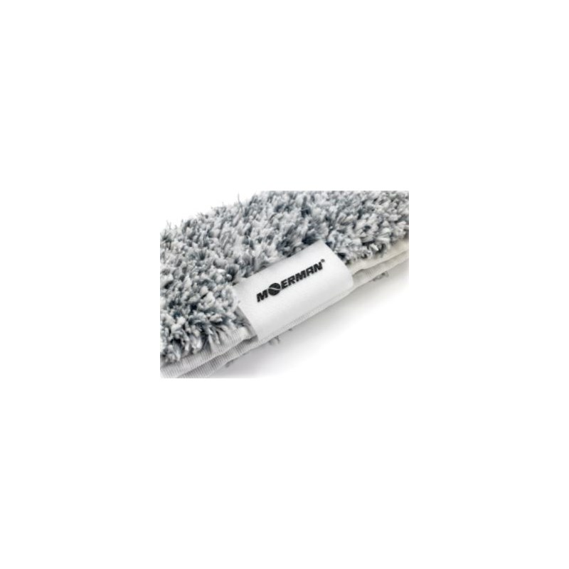 Moerman Silver MicroFiber Sleeve with End Scrubber Image 4
