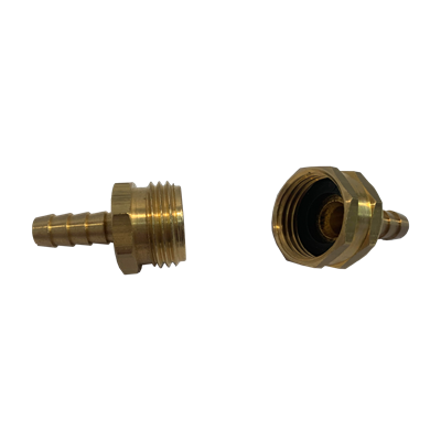 Hose Barb 3/8in-3/4in GH Male&Female Set Image 3