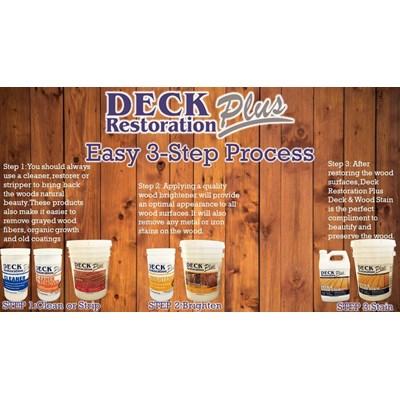 Deck & Wood Stain Brightener 5 Gallon DRP Image 1
