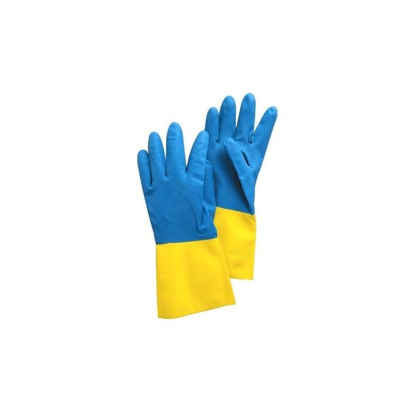 Neoprene/Latex Chem Resistant Gloves Image 1