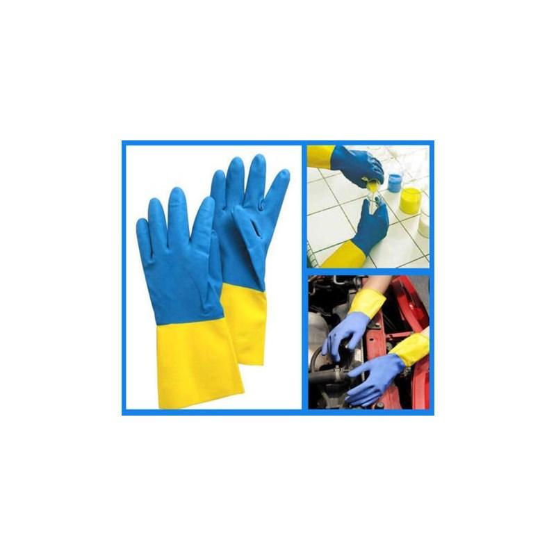 Neoprene/Latex Chem Resistant Gloves Image 2