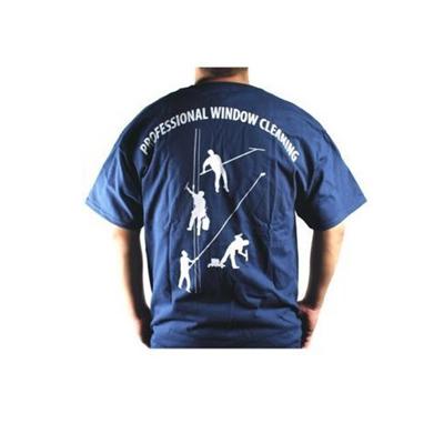 4 Dudes Navy Blue T-Shirt  Image 2
