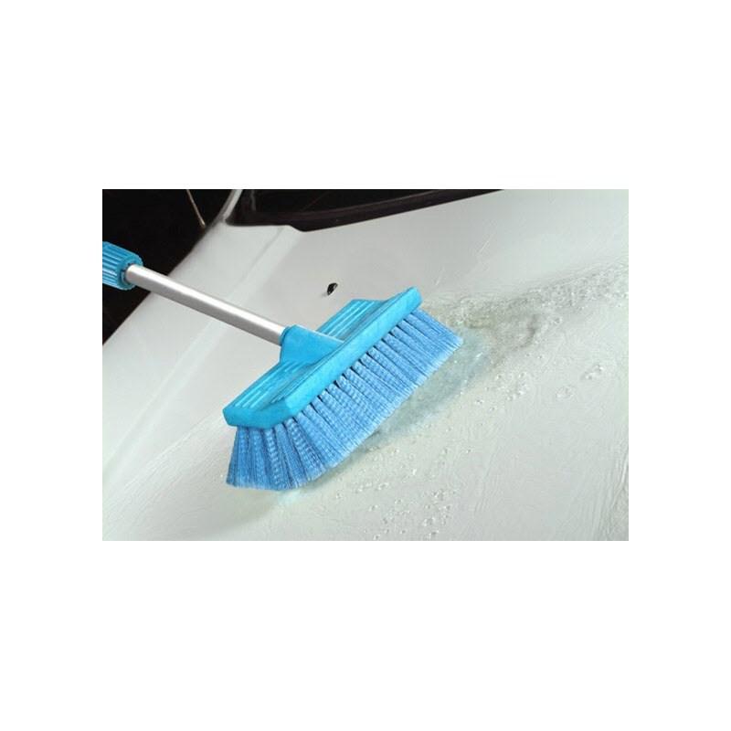 Brush BiLevel 10in Blue Soft FlowThru Image 3