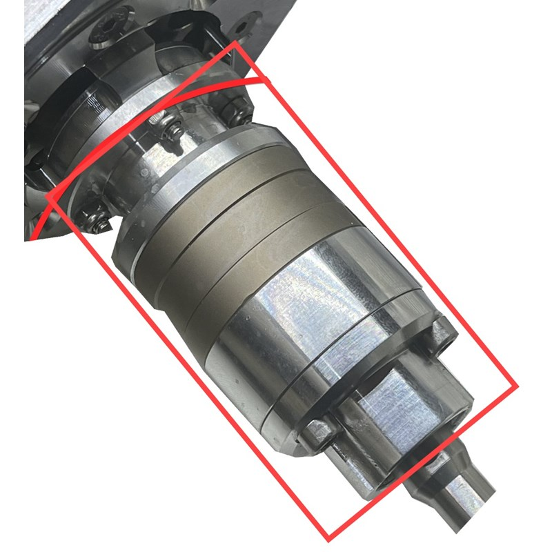Gearbox for 32in and 29in Water Powered Rotary Brush Image 1