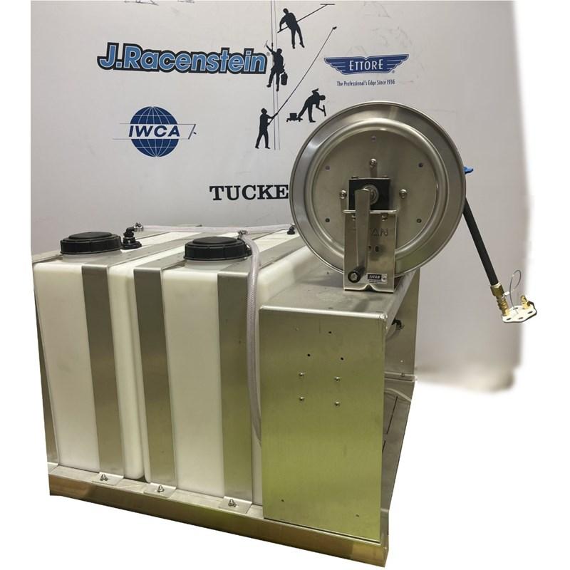 Skid Sprayer 50 ga Batch 50ga Storage Tanks with 300ft hose Image 2