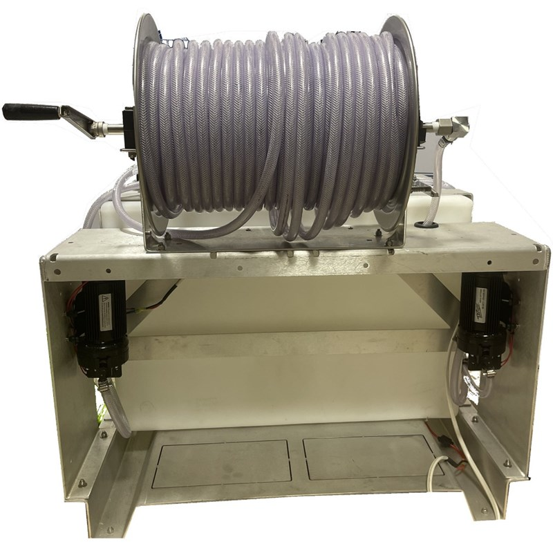 Skid Sprayer 50 ga Batch 50ga Storage Tanks with 300ft hose Image 9