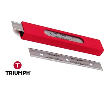 Blades Triumph Stainless Steel 06in 0.20 mm Thick (25 Pack) Image 1