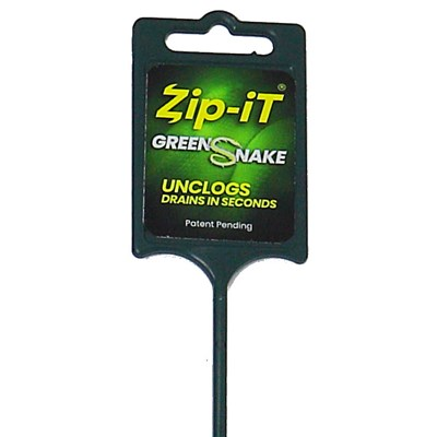 Zip-It Green Snake Drain Cleaner Image 3