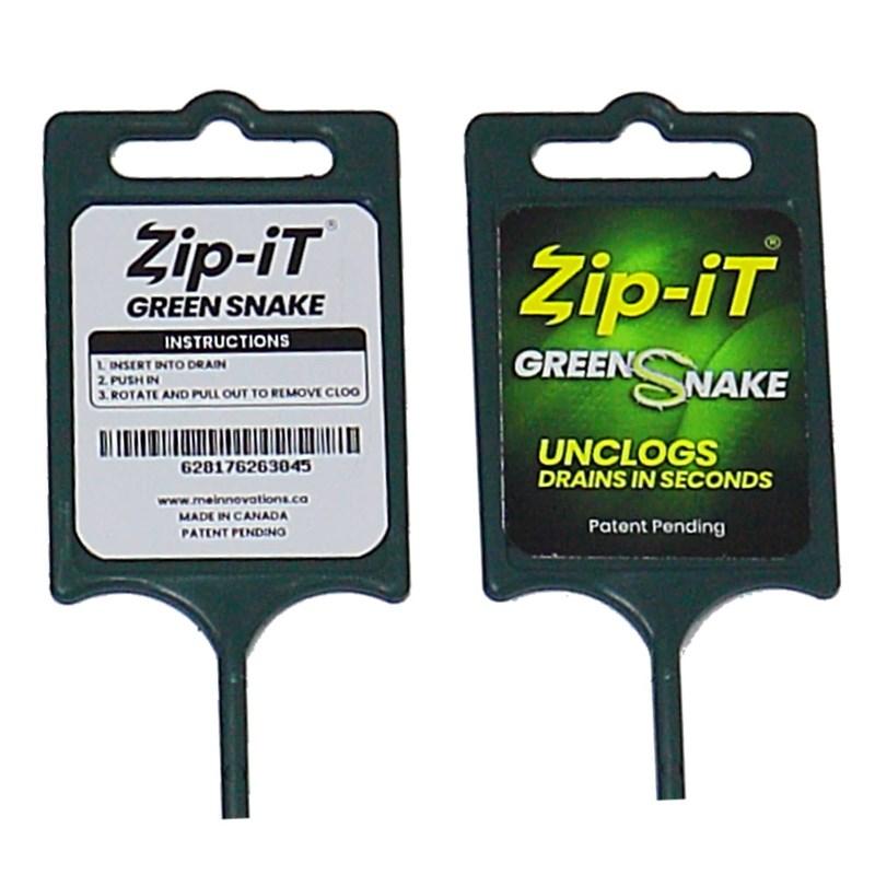 Zip-It Green Snake Drain Cleaner Image 2