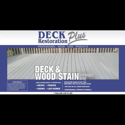 Deck & Wood Stain Barnegat Gray Gallon DRP Image 2