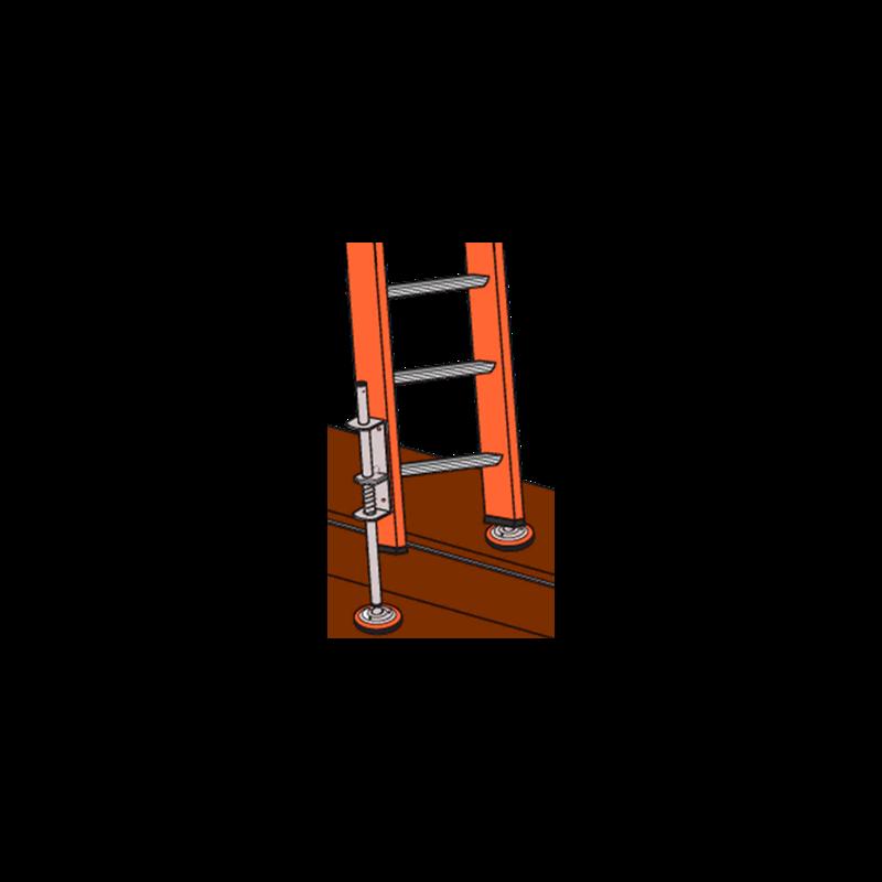 Ladder Leveler w/Rubber Feet (2 pack) Xtenda-Leg Image 1