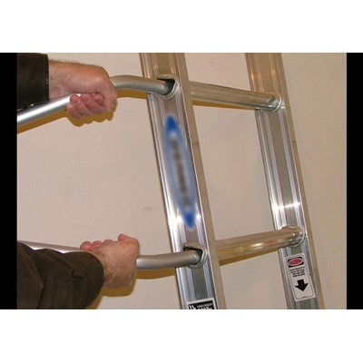 Ladder Stand Out - Stabilizer with Silicone Elbows  - Pair Image 2