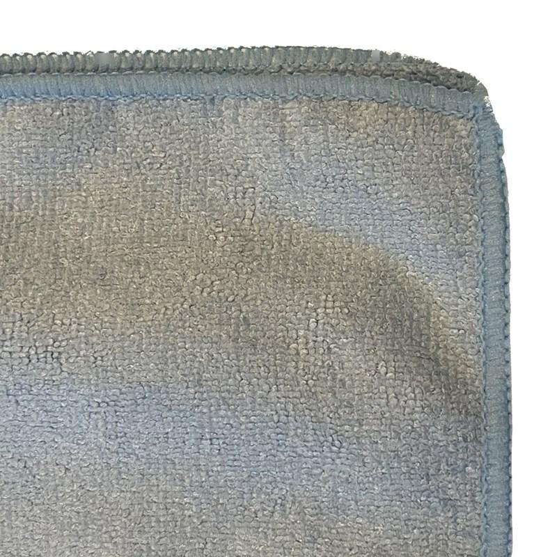 Microfiber Logo Towel 16in x 16in 300gsm Blue Image 4