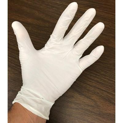 Gloves Nitrile 50pair 100ct XL White Image 1