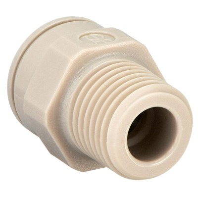 Male Connector Plastic 5/16in x 1/4in Image 1
