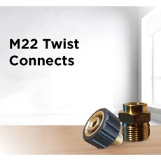 M22 Twist Connects