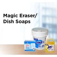 Magic Eraser/Dish Soaps