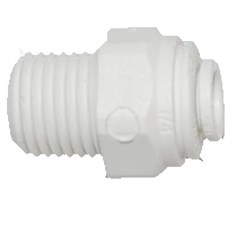 Male Connector 1/4in x 1/4in