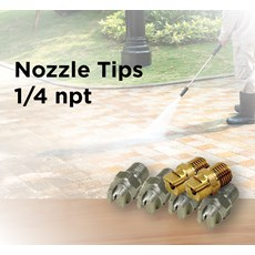 Nozzle Tips 1/4 npt