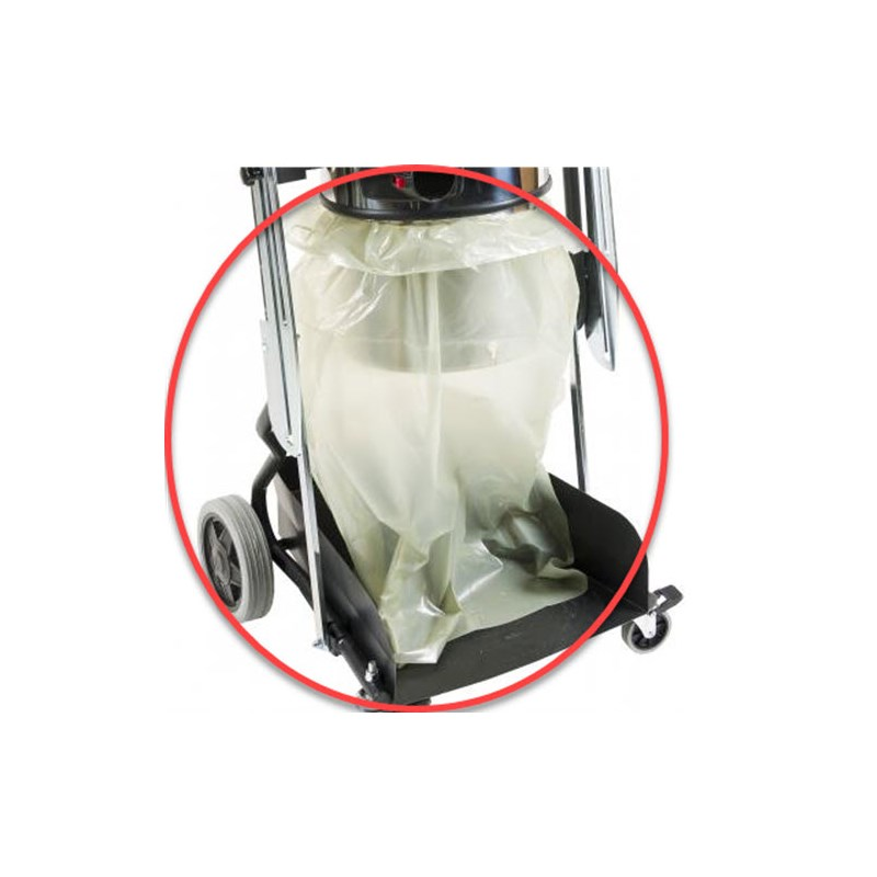 Vacuum Plastic Collection Bag - 8 bags in roll