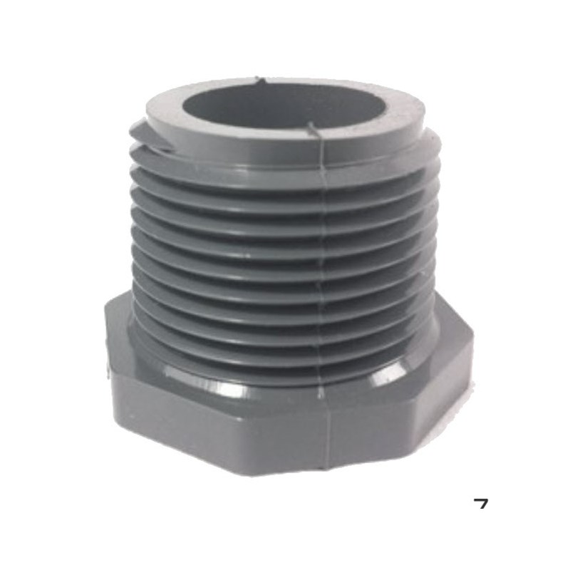 Plug 1/2 Male NPT PVC Sch 80
