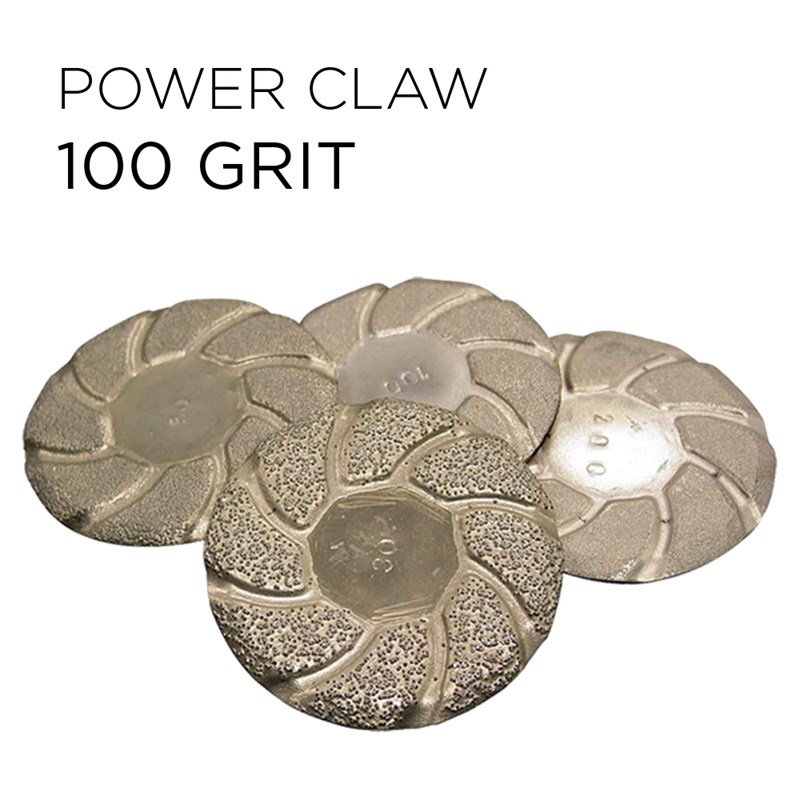 Power Claw Lippage Bonded Pad 3in 100grt