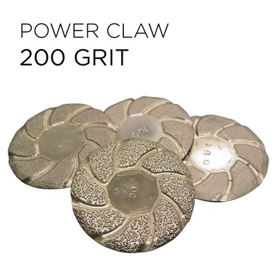 Power Claw Lippage Bonded Pad 3in 200grt