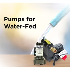 Pumps for Water-Fed