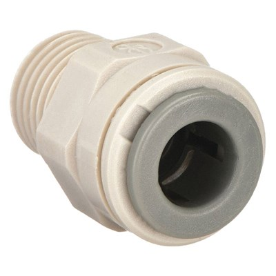 Male Connector Plastic 5/16in x 1/4in