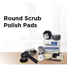 Round Scrub Polish Pads