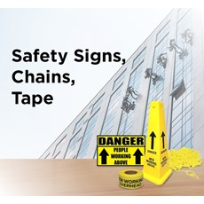 Safety Signs, Chains Tape