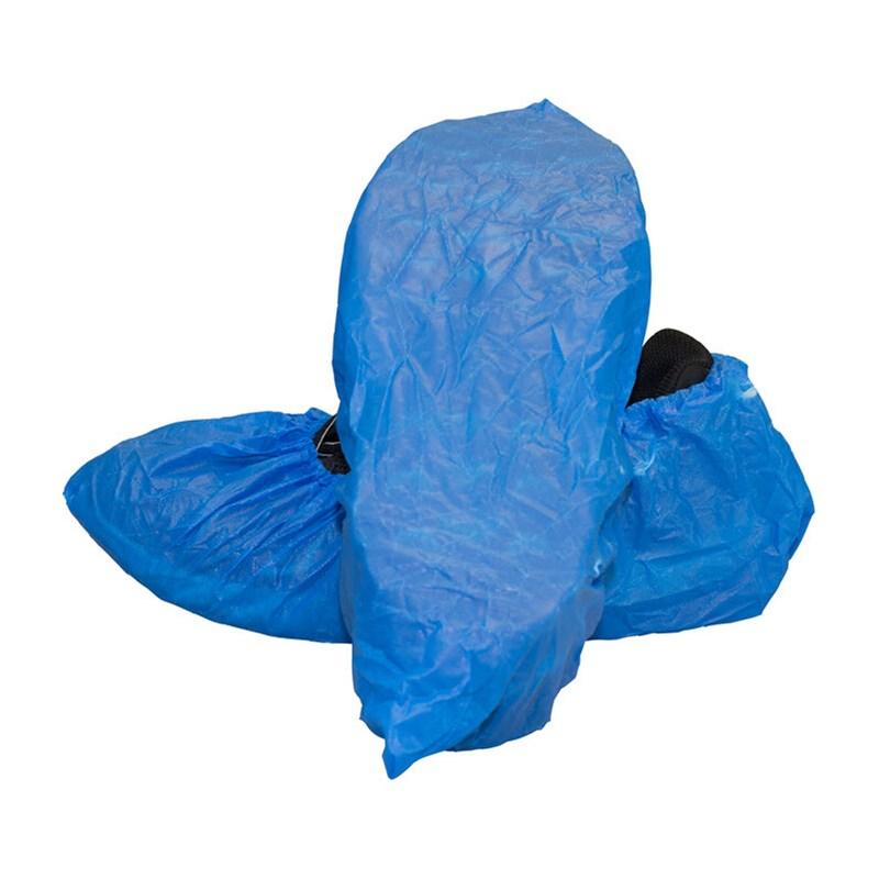 Shoecover Textured Tread Polyethylene