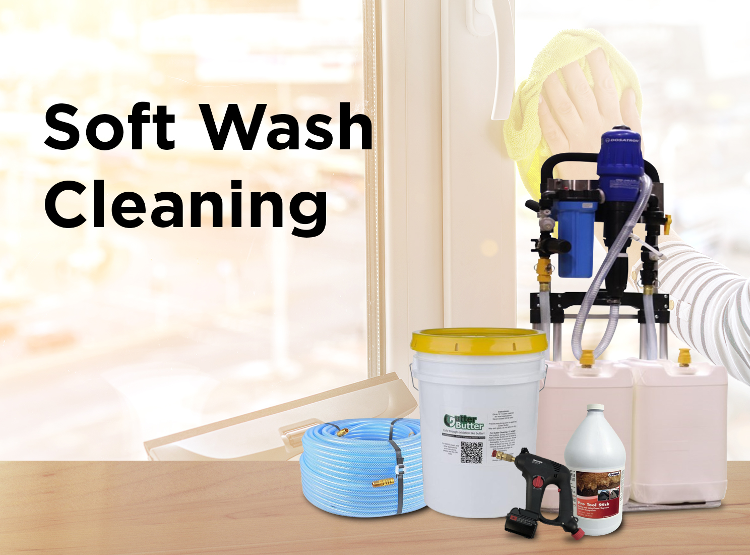 Softwash Cleaning