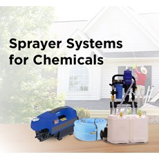 Sprayer Systems for Chemicals