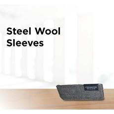 Steel Wool Sleeves