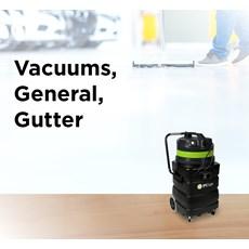 Vacuums,  General, Gutter