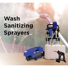 Wash, Sanitizing, Deodorizer Sprayers
