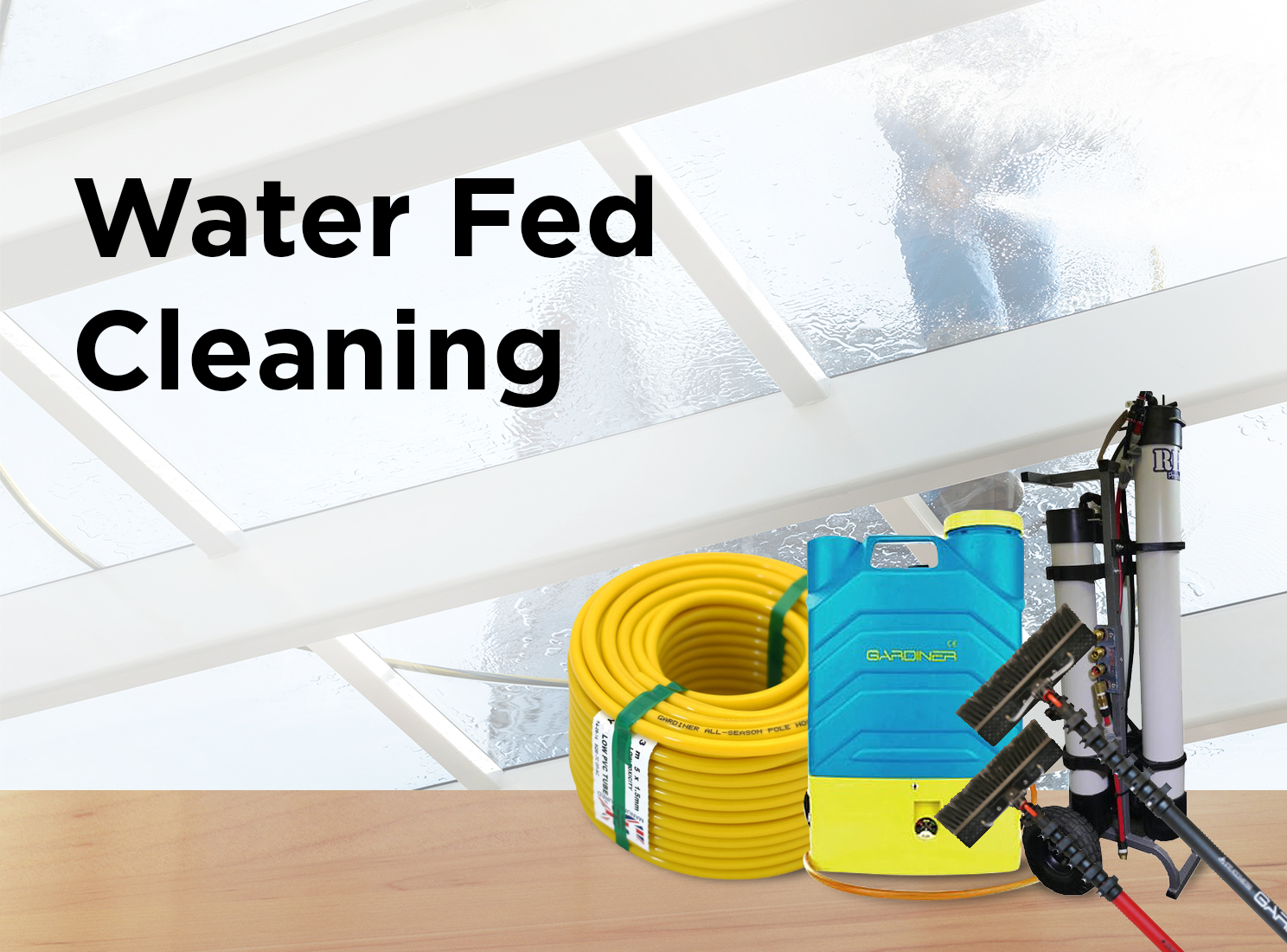 Water-Fed Cleaning